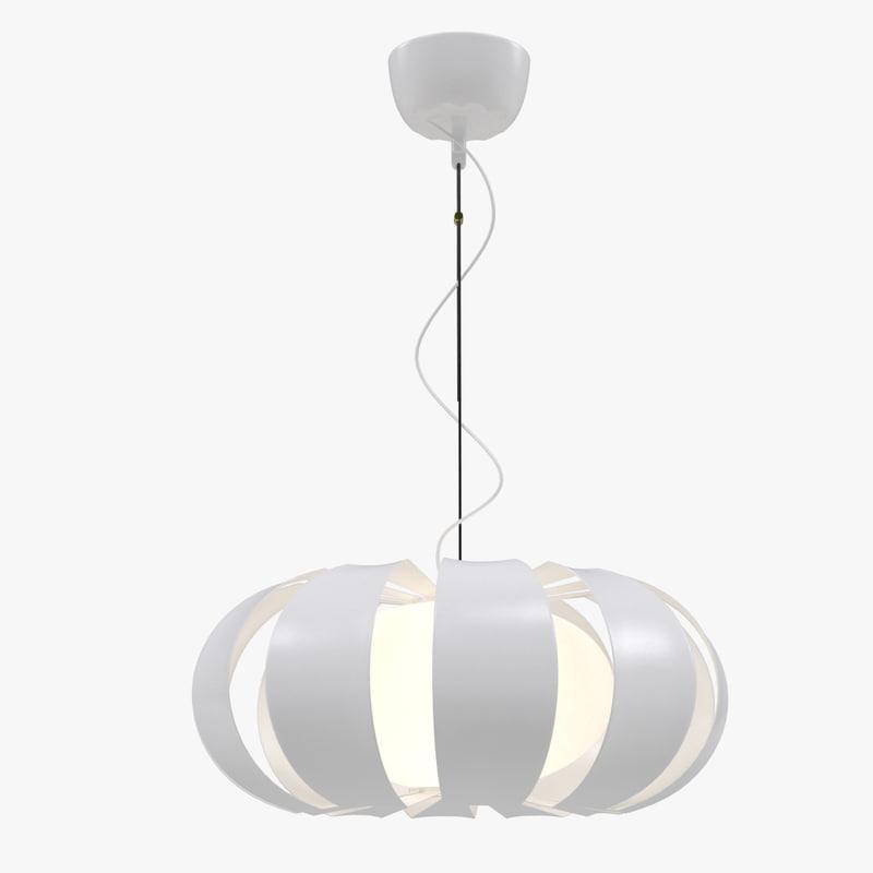 ikea stockholm lamp 3D model