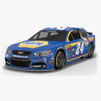 3D hendrick motorsports nascar chase model