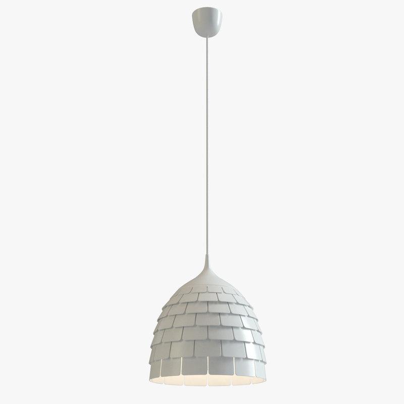 ikea kvartar lamp 3D model