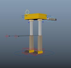 boxy walker 3D