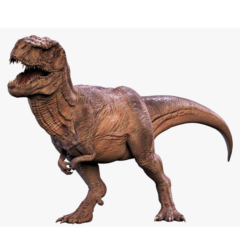 tyrannosaurus rex rig trex 3D model