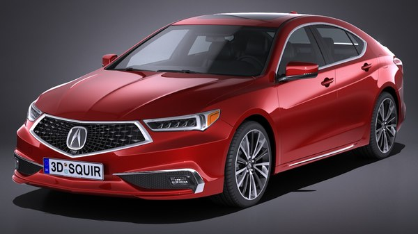 acura tlx 2018 3D