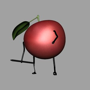 apple pen rig 3D model
