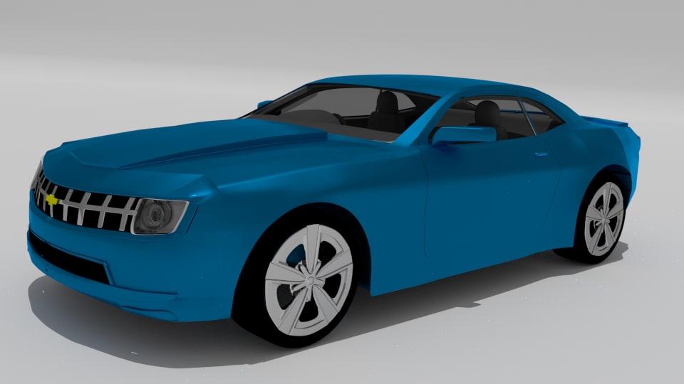 3D sedan