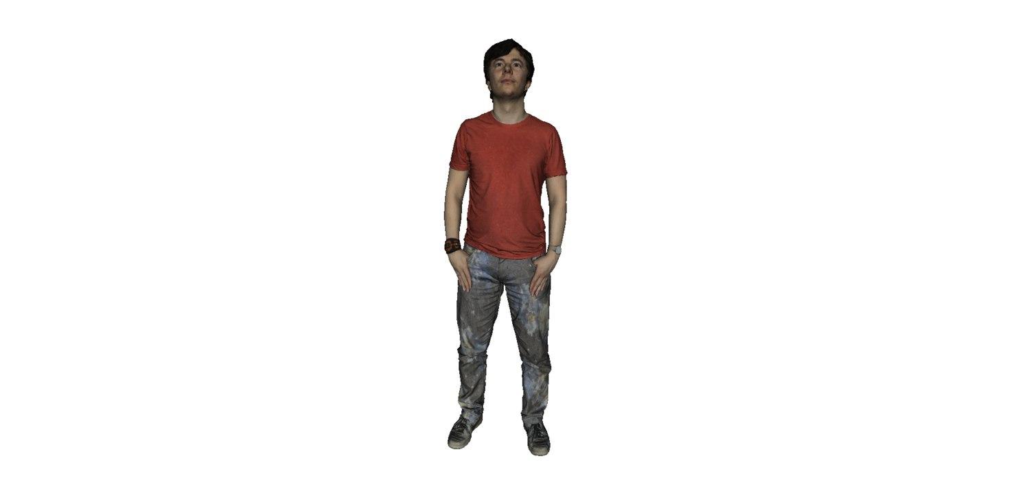 3D man