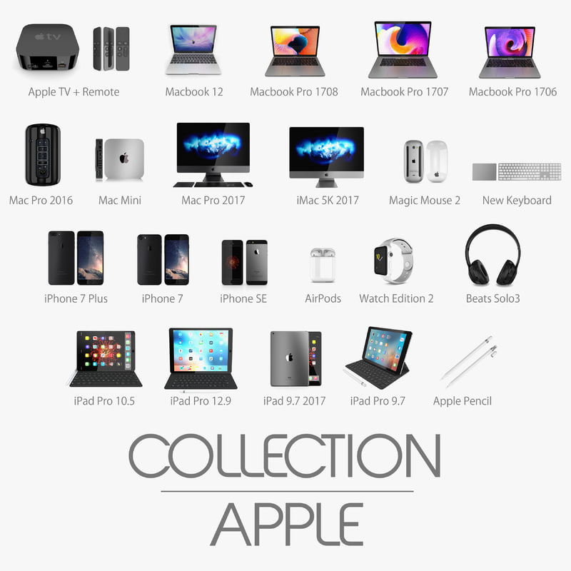 3D apple 2017 7 2
