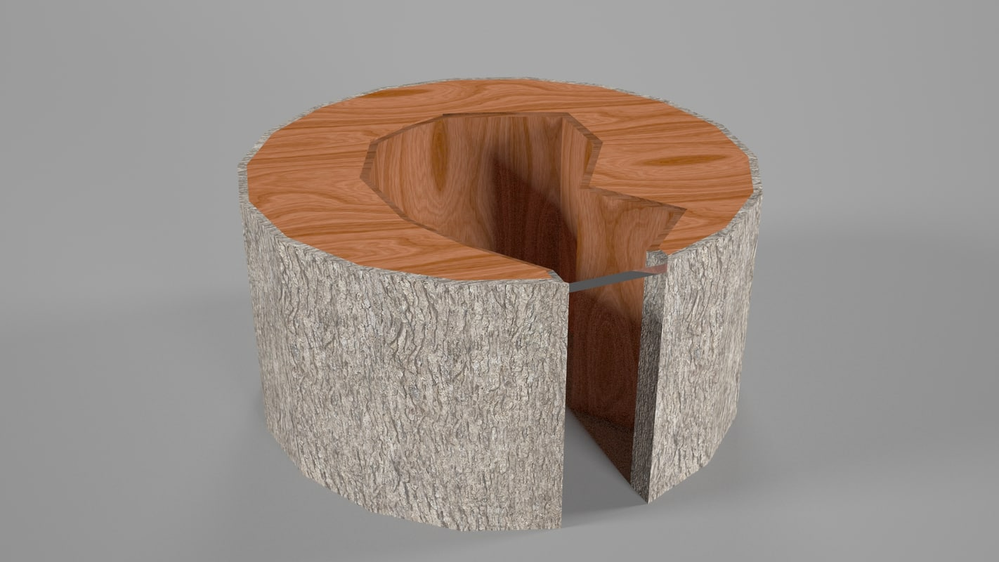 3D woodtable furniture table model