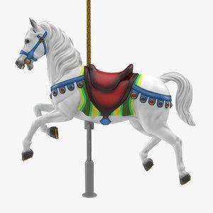 carousel horse v9 3D model