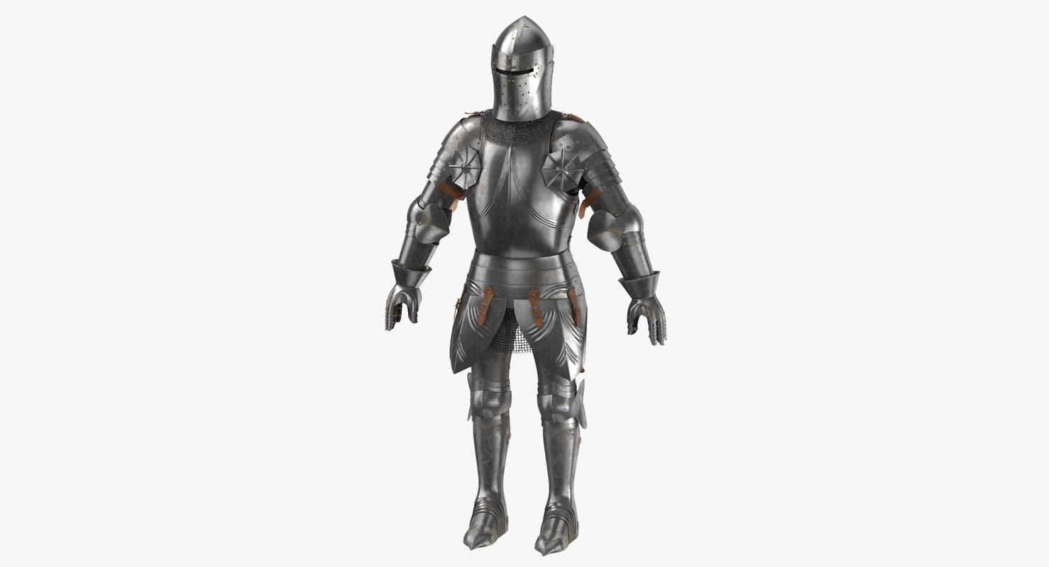 3D medieval armor stemcell