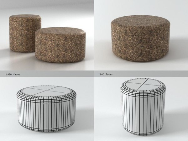 3D corks moooi model
