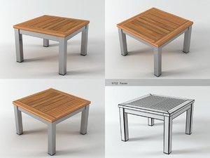 equinox coffee table 60 3D model