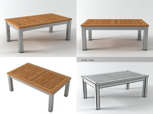 3D equinox coffee table 100