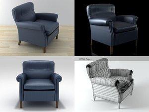 romance armchair 3D