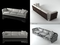 3D cestone sofa 310 model