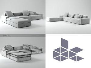dune sofa 3D