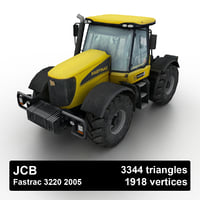 2005 fastrac 3220 tractor 3D