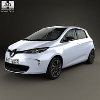Renault ZOE with HQ interior 2013