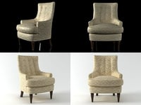 mackensey chair 177-30 3D model