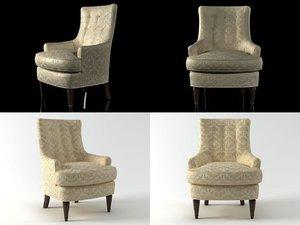 mackensey chair 177-30 3D model