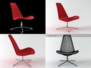 spoon easy chair 3D model