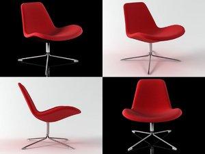 3D spoon easy chair