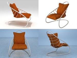 framura chair 3D model