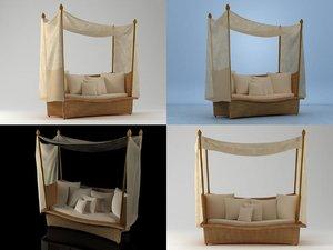 3D daydream small model
