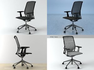 3D model meda chair