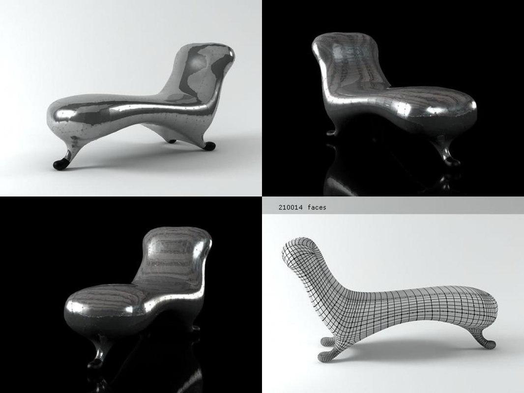 3D lockheed lounge n model