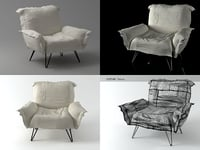 cumulus chair 3D model