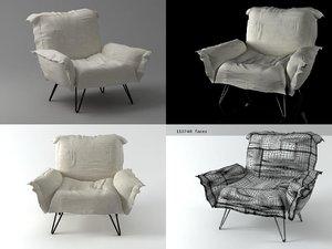 cumulus chair 3D model