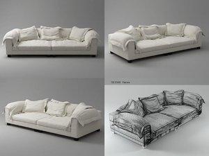 3D nebula sofa