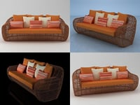 balou daybed 3D