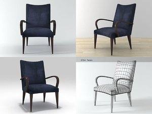 3D paul irbe s chair model