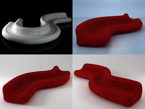 carrera 3D model