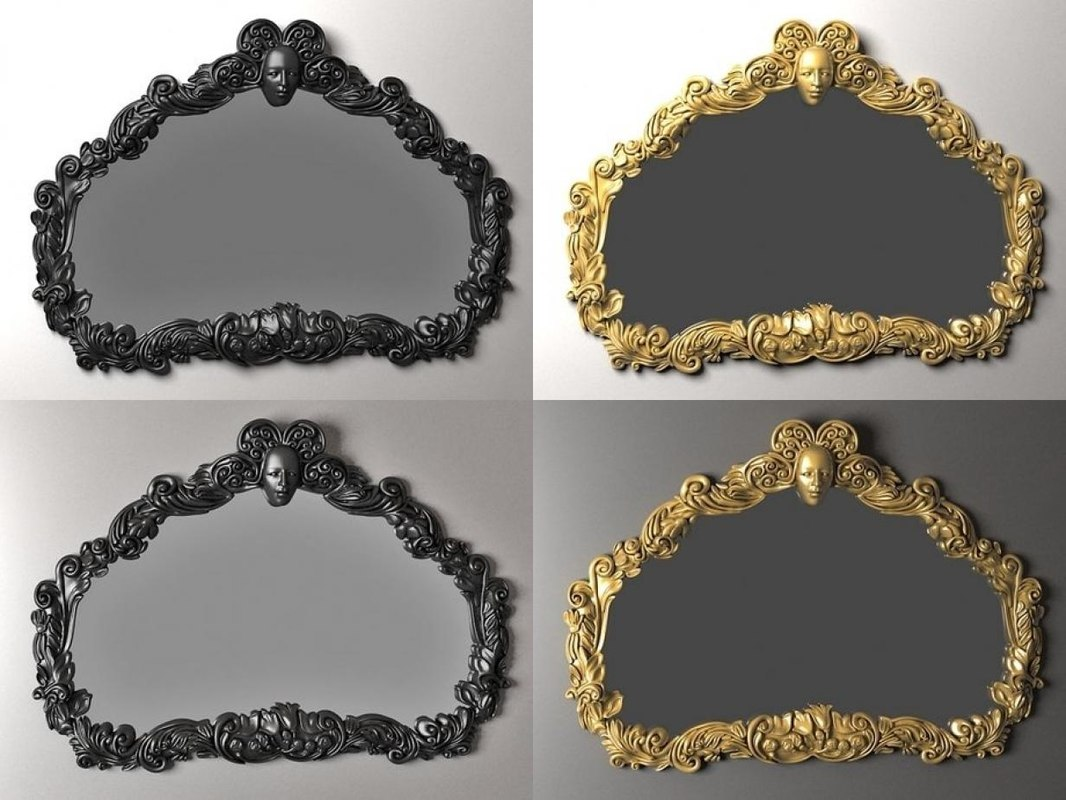 paris mirror 3D model