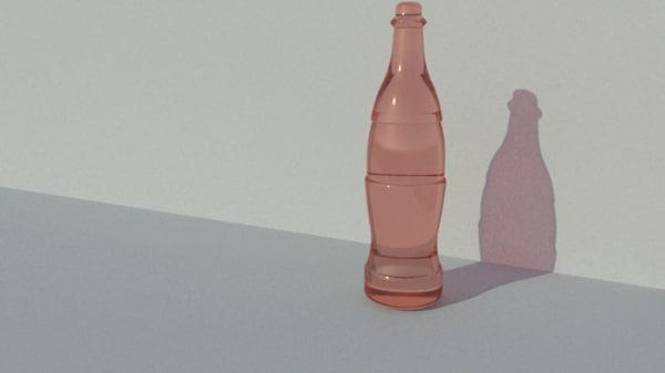 soda bottle model