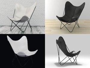 hardoy chair 198 3D model