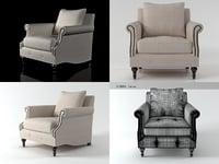 3D angelica armchair