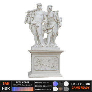 vienna monument scanned model