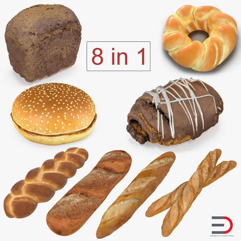 3D bakery products 3