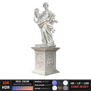 monument scanned model