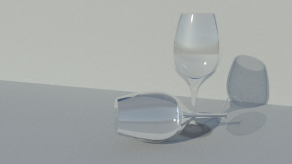 wine glass model