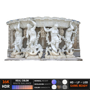 3D model monument scanned