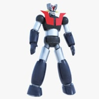mazinger robot 3D model