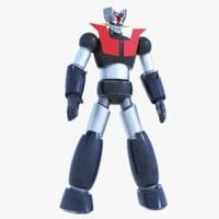 mazinger robot 3D model