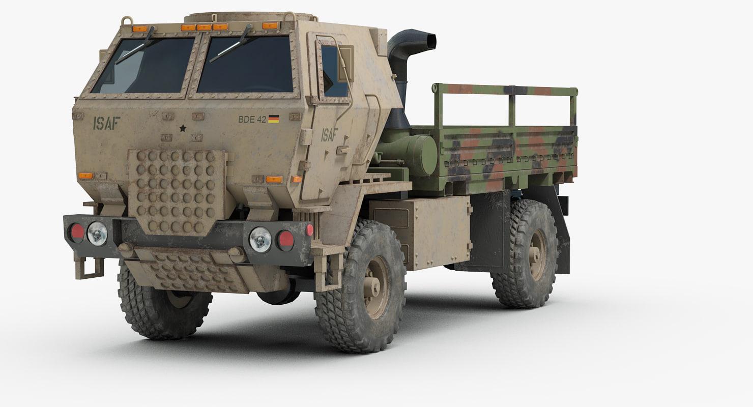 m1078 lmtv military truck 3D model