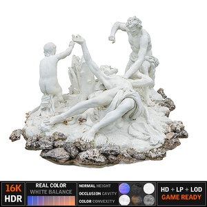 3D monument scanned