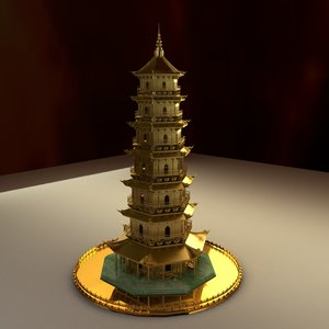 3D chinese lion