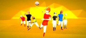 baseball vr 3D model